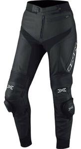 IXS-Pantalon-Cuir-rouven-noir-Moteur-Cuissard-de-vachette-Nappaleder