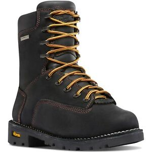 Danner Men S 14220 Gritstone 8 Quot Black Leather Eh