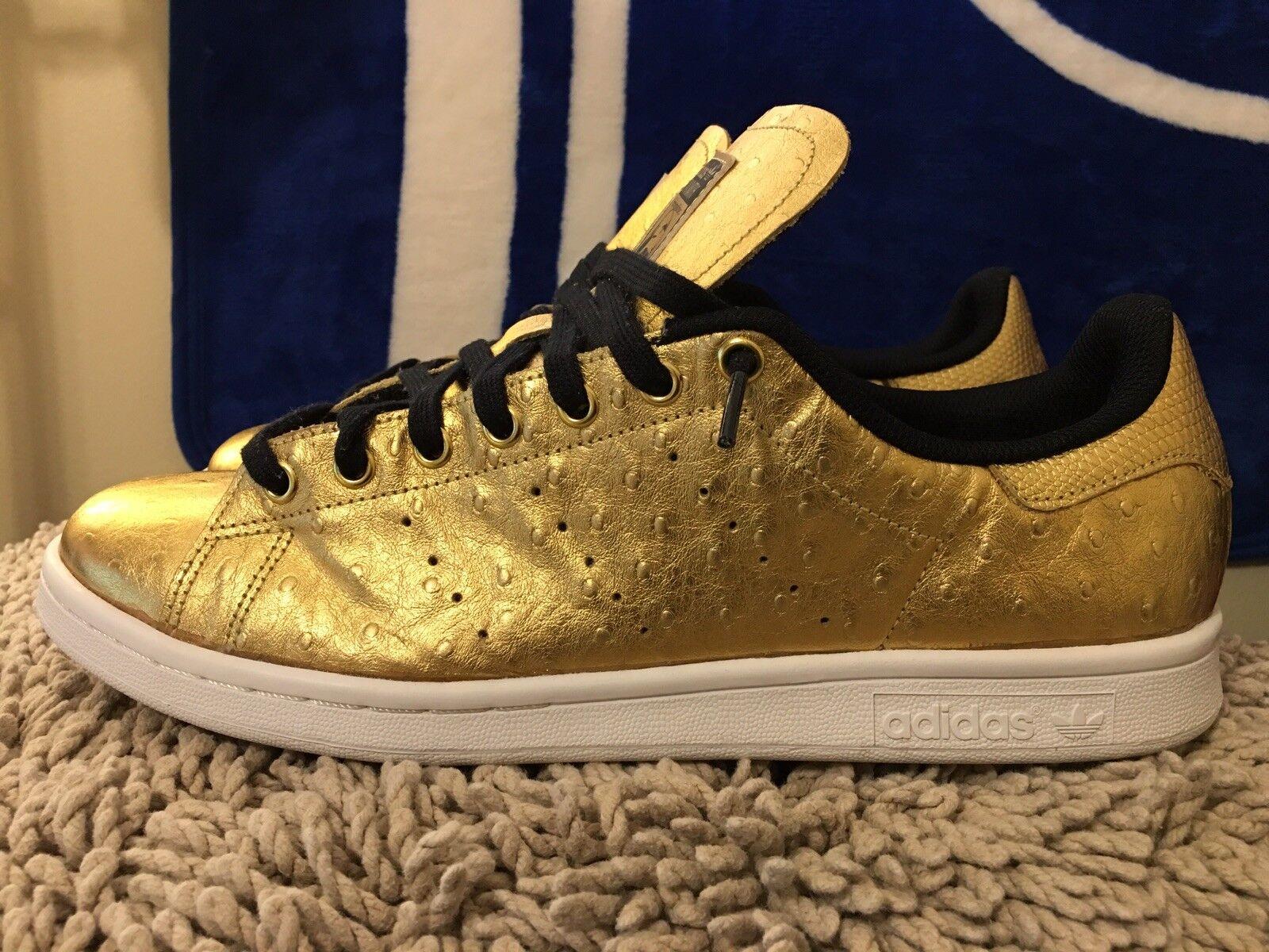 Adidas Originals Stan Smith, Art No. AQ4705, Metallic gold, Men's Size 11.5