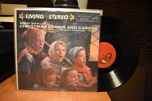 Robert-Shaw-Christmas-Hymns-and-Carols-Volume-1-LP-RCA-LSC-2139-Stereo