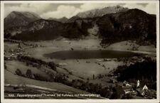 Passionsspieldorf Thiersee bei Kufstein AK ~1930/40 Panorama mit Kaiser Gebirge