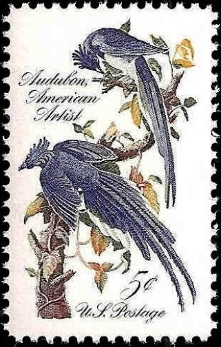 1963 5c John James Audubon, Birds of America Scott 1241
