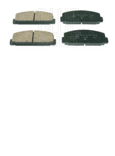 MAZDA 323 626 1,6 1,8 PREMACY 2.0 arrière plaquettes de frein set