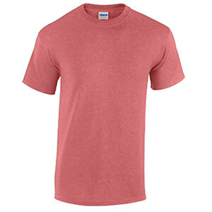 Heather Red WHOLESALE Blank Men's T Shirt