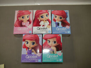Banpresto-Disney-Q-Posket-Petit-5er-Set-Ariel-Story-of-The-Little-Mermaid-Kbr