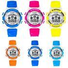 Waterproof LED Watch Mens Boys Digital Quartz Alarm Date Sports Wrist Watch New
