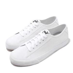 puma bari white black gum men women unisex casual shoes