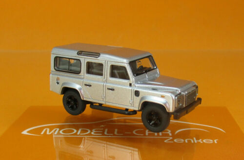 Wiking 010203 Land Rover Defender 110 plata 1:87