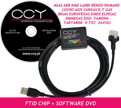 Lpg autogas bigas SGIS Interface-cable USB versión antigua