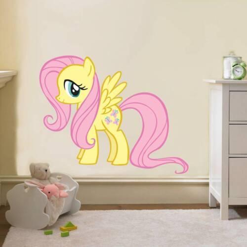 FLUTTERSHY My Little Pony Decal Removable WALL STICKER Home Decor Art Girls Kids
