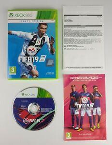 Fifa-19-Legacy-Edition-Xbox-360-PAL-Muito-Bom-Estado-amp-Completo-Gratis-Uk-Post