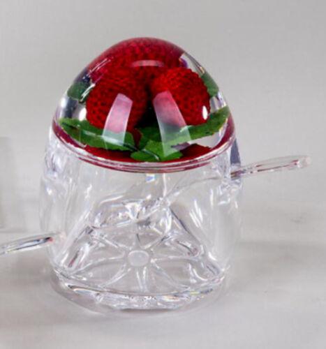 Formano Marmeladendose mit Löffel rund aus Acryl 4 fach sortiert 691057