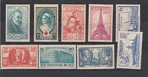 FRANCOBOLLI-1939-FRANCIA-MLH-Z-4415