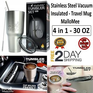 30-oz-Tumbler-Double-Wall-Stainless-Coffee-Cup-Straw-Vacuum-Insulated-Travel-Mug