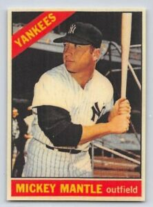 1966-MICKEY-MANTLE-Topps-034-REPRINT-034-Baseball-Card-50-NEW-YORK-YANKEES