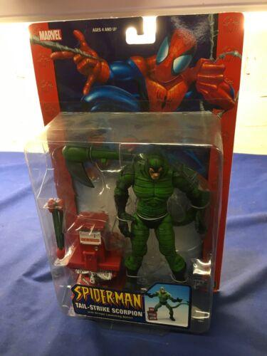 Marvel Amazing Spider-Man Tail Strike Scorpion Action Figure Stinger Launching