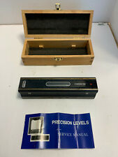 8 Master Precision Level In Fitted Wooden Box For Machinist Tool 0000510