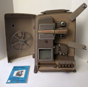 Details about KEYSTONE K-110 8mm Movie Projector Editor 1950s VINTAGE RARE  WORKING