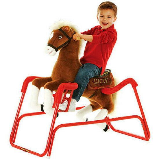 Horse Ride Toy Riding Spring Pony Kids Bouncy Ponycycle Flyer Up Baby Boy Wonder