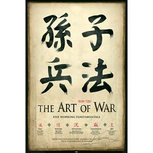 THE-ART-OF-WAR-SUN-TZU-FIVE-WORKING-FUNDAMENTALS-91-x-61-CM-36-x-24-034-POSTER