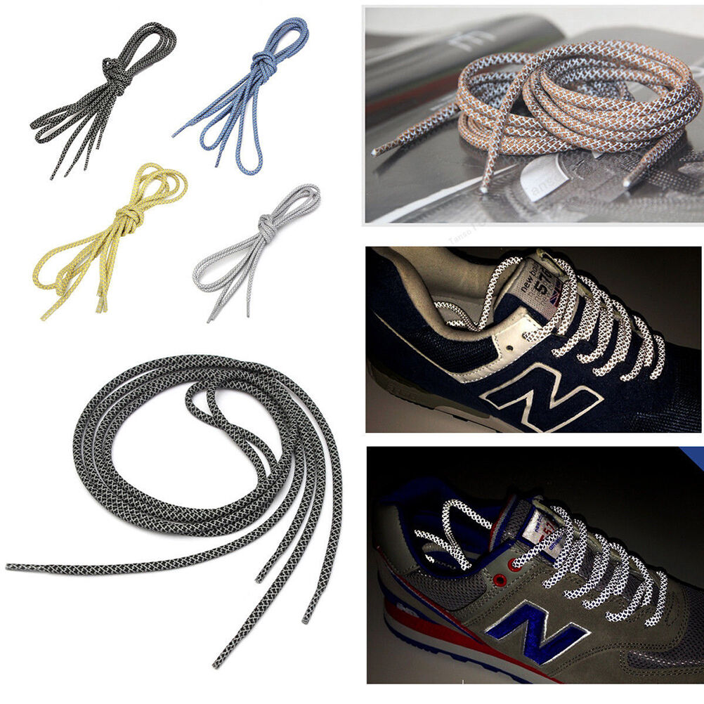 70-120cm 1Pairs//set Outdoor Sport Round Casual Sneaker Shoelaces Boots Sho4HTU/_M