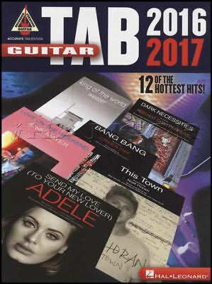 Contemporary Guitar Tab 2016-2017 Music Book 12 Of The Hottest Hits Green Day Blink 182 Adele Skillful Manufacture