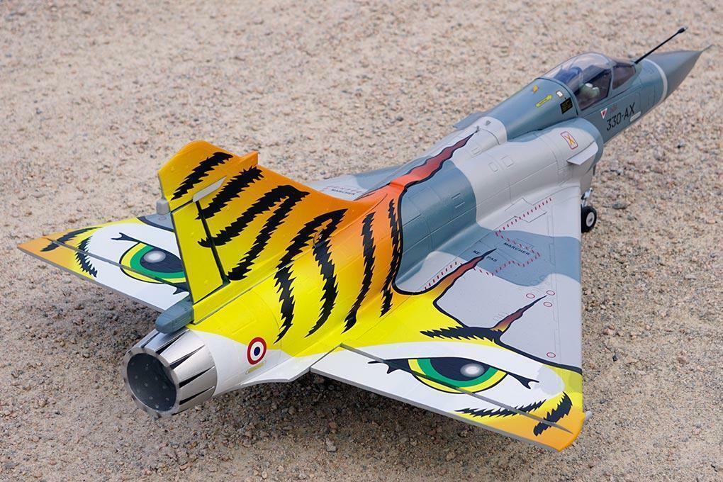 Freewing Mirage 2000C V2  Tiger satisfacer  80mm Earth Defense flota Jet-PNP