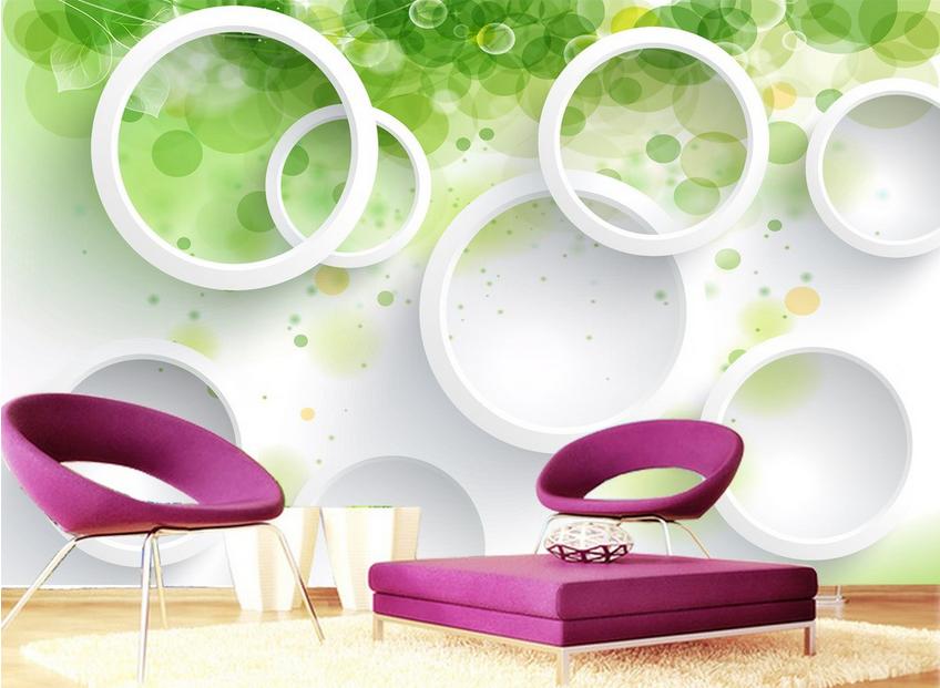 3D Mode Hintergrund Ring 833 Tapete Wandgemälde Tapete Tapeten Bild Familie DE | Verrückte Preis  | Fairer Preis  | Leicht zu reinigende Oberfläche