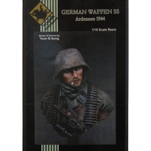 Figurine miniature  German waffen SS ardennes 1944  - soldat - Young miniatures