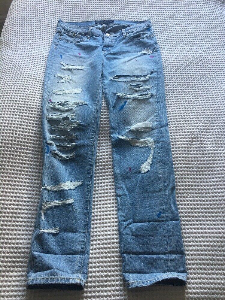 Karl Lagerfeld trousers jeans bluee