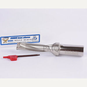Φ19-5D C25 U drill indexable drill 19mm WC C25 5D for WCMX030208 WCMX CNC insert