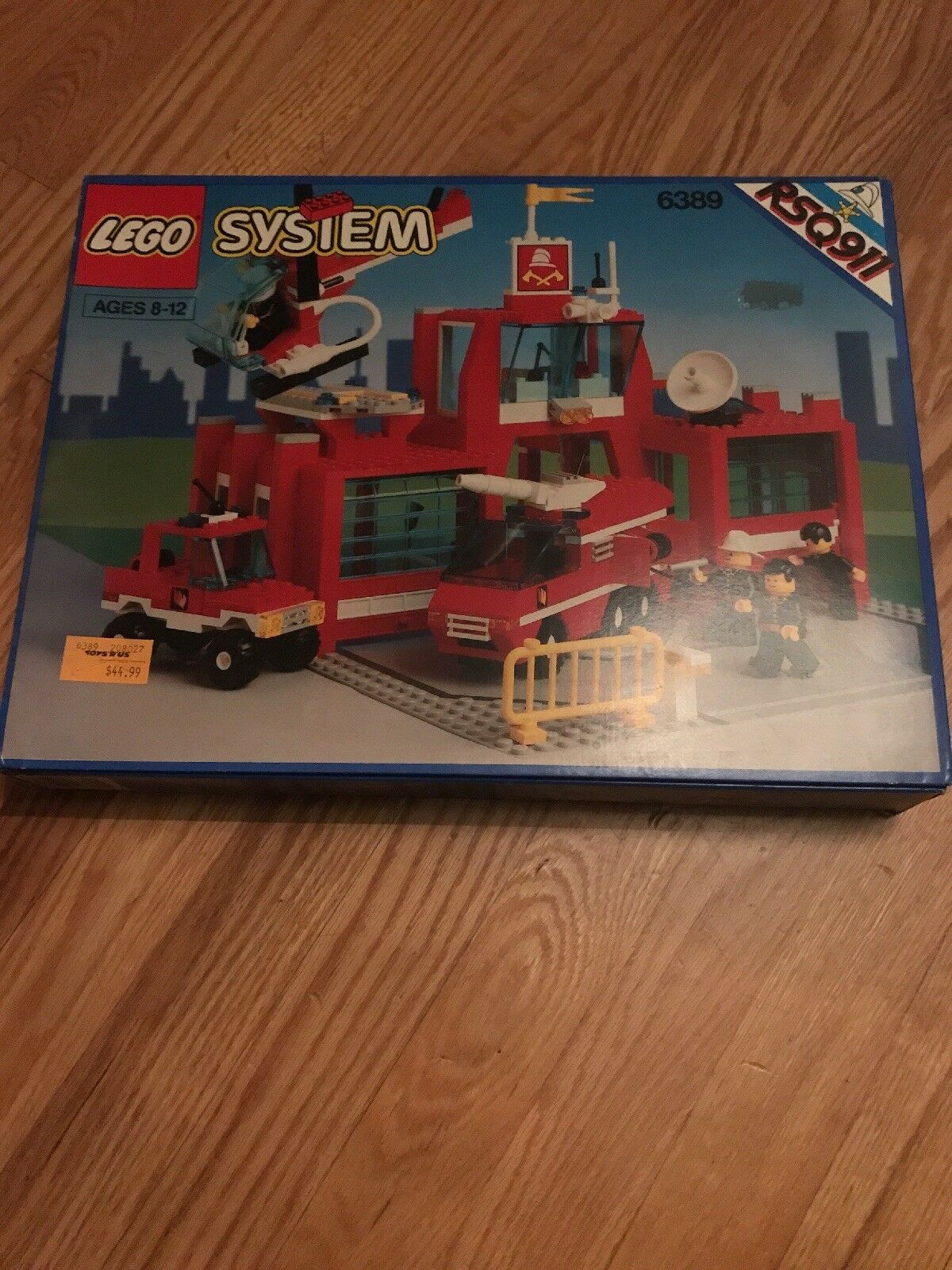 Lego System 6389 Fire Control Center Nuovo In Box