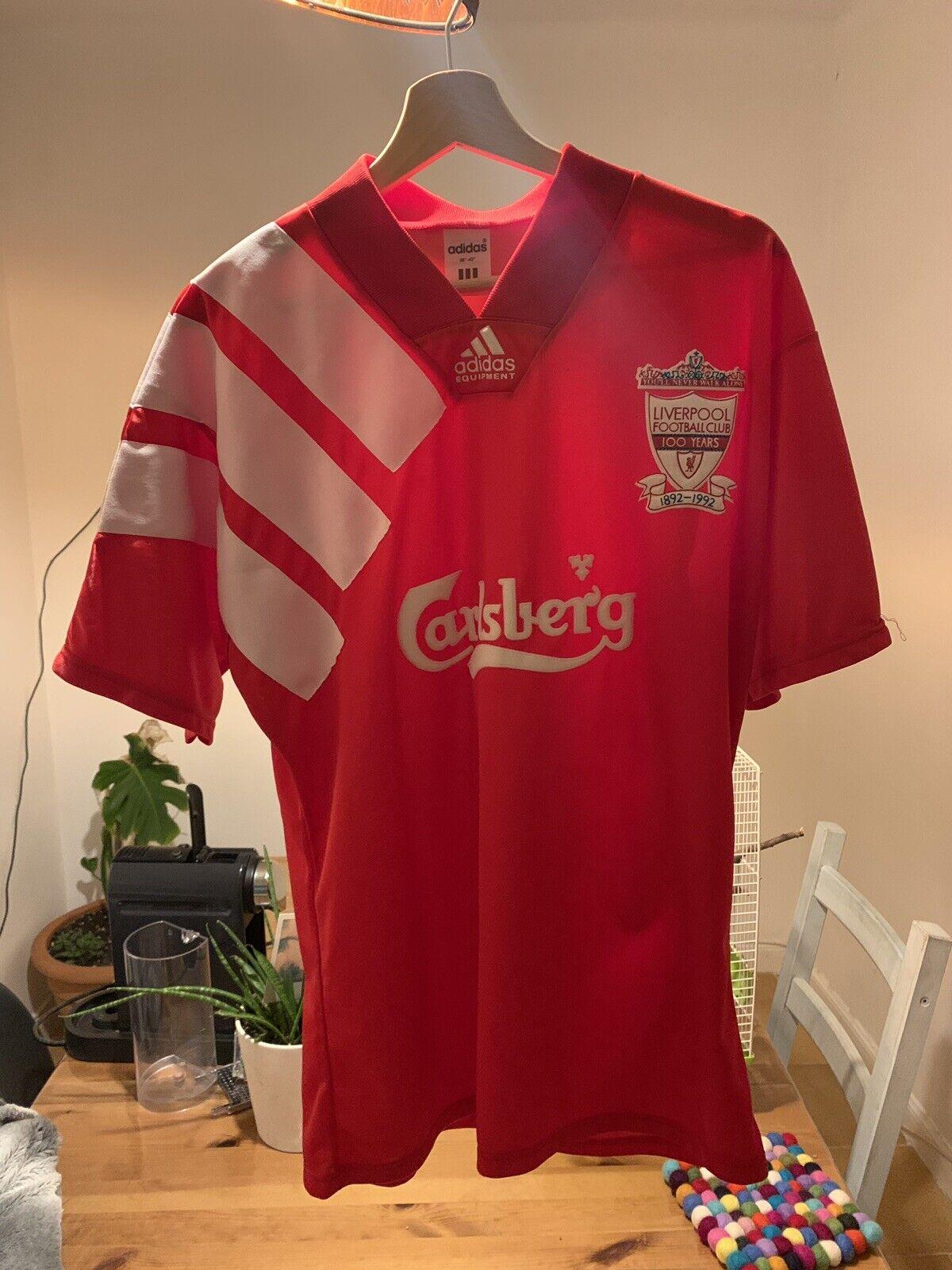 Liverpool Home football shirt 1992.