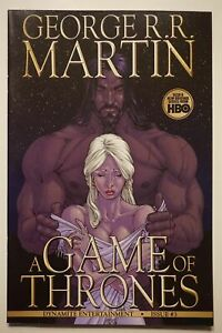 GEORGE-R-R-MARTIN-A-GAME-OF-THRONES-3-Comic-Book-1st-Printing-HBO-Dynamite