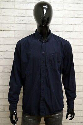 Bello Camicia Camel Active Uomo Taglia Size Xl Maglia Shirt Man Cotone Regular Fit Blu Sapore Aromatico