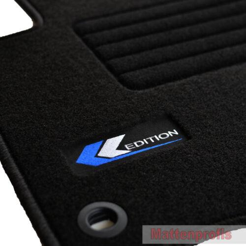 Mattenprofis Velours Edition Fußmatten für VW Touran 1T ab Bj.2003-2010 oval