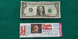 YNGWIE-MALMSTEEN-1992-UNUSED-TICKET-Spain-FREE-SHIPPING-WORLDWIDE-WITH-TRACKING