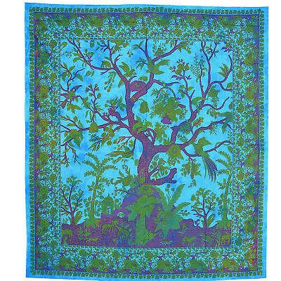 Giorno Soffitto Tree Of Life Albero Della Vita Letto Missoni-oltre Lancio Decorazione-panno Yoga Goa-mostra Il Titolo Originale