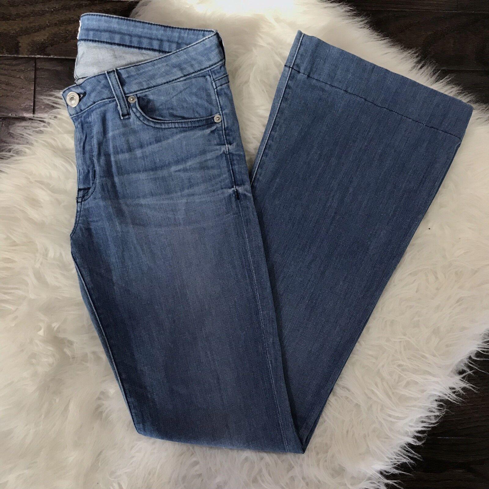 Hudson Women's Size 28 Jeans Ferris Flare Aruba Wash