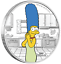 IN-STOCK-2019-The-Simpsons-Marge-Simpson-1oz-1-Silver-99-99-Dollar-Proof-Coin thumbnail 1