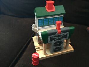 Thomas-The-Tank-Engine-Wooden-Railway-Stop-And-Greet-Signal-No-2-Suddery