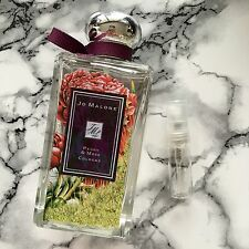 Authentic Jo Malone Perfume Samples - Peony & Moss cologne 5ml glass bottle