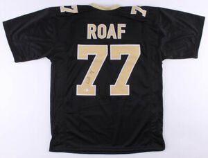 Nasty-Willie-Roaf-Signed-New-Orleans-Saints-Football-Jersey-Beckett-COAAuthentic