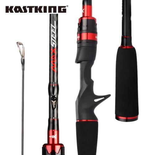 KastKing Max Steel 2 Stücke Spinruten Casting Ruten  1.8M 2.28M Angelrute Rods
