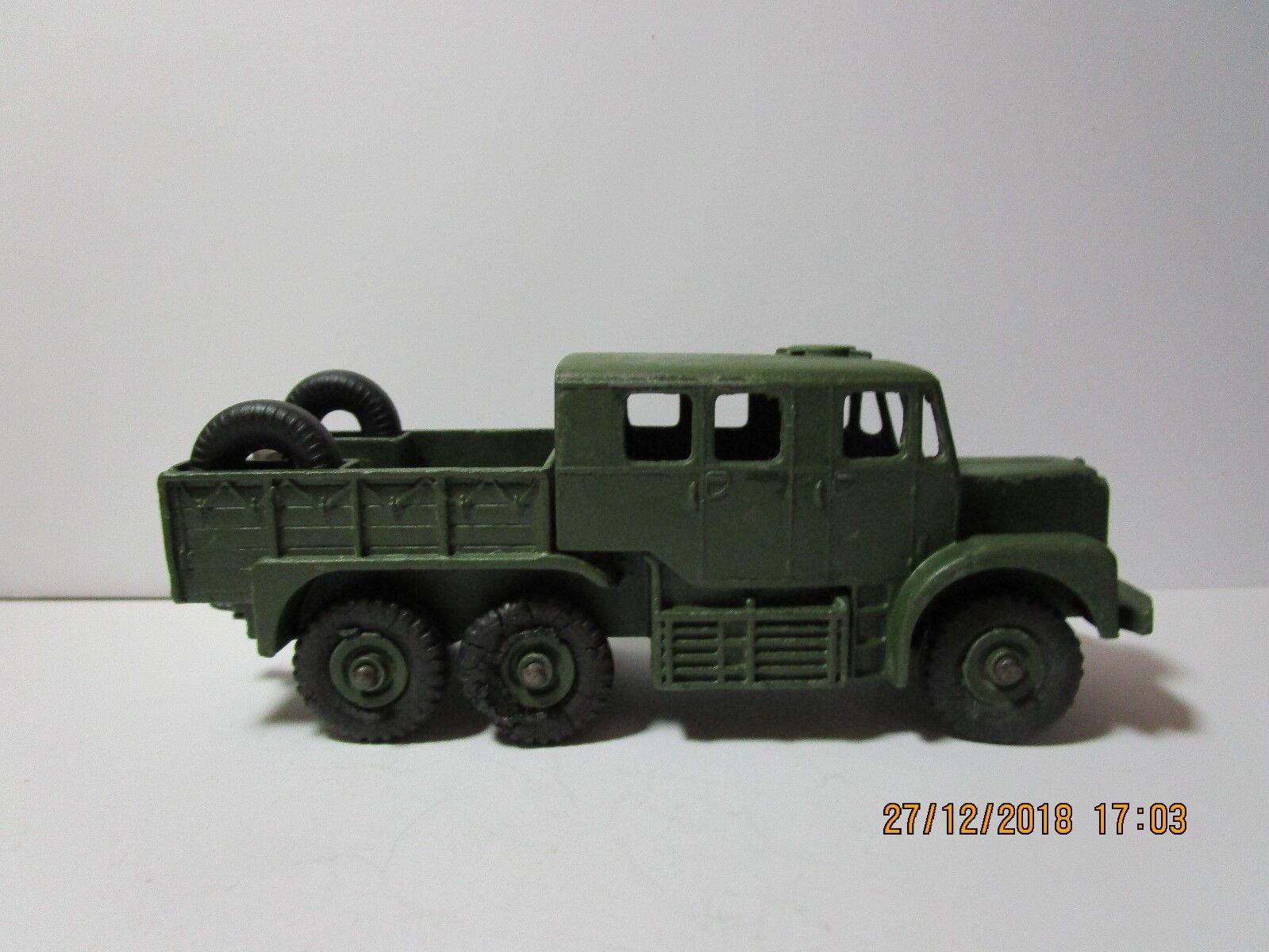 Dinky toy militar 689 medio tractor de artillería en Caja