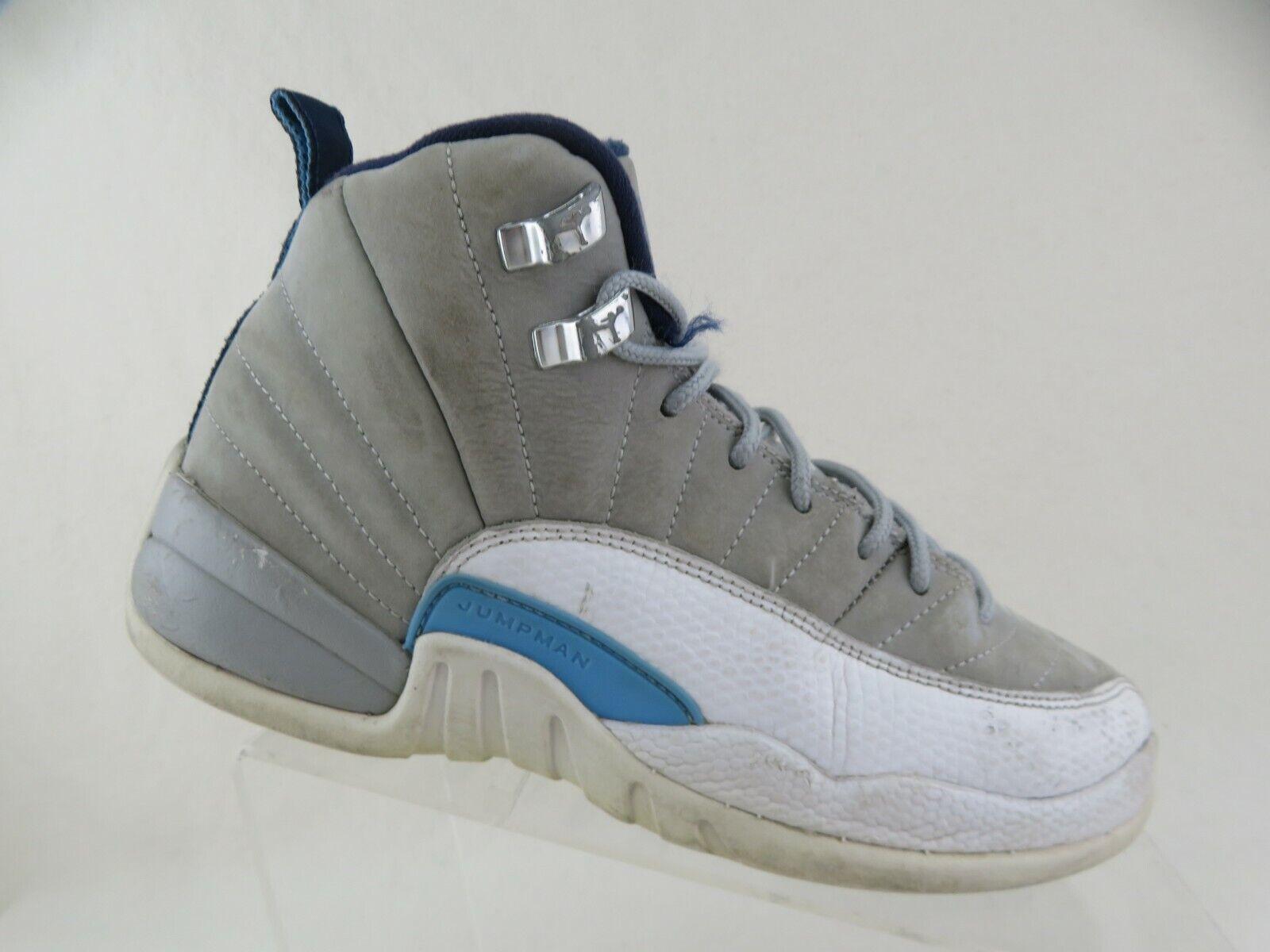 NIKE Air Jordan 12 XII University Blue Sz 5y Kids Basketball Shoes