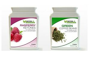 Raspberry-Ketone-amp-Green-Coffee-Bean-Extract-Bottle-Weight-Loss-Diet-Capsules