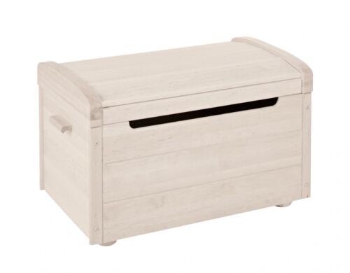 BioKinder™™ Truhe Aufbewahrung  Kiste Schatztruhe Kiefer weiß Massivholz NEU!