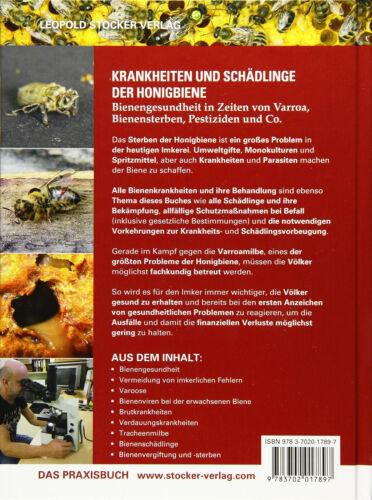 Krankheiten und Schädlinge der Honigbiene Bienengesundheit Bienensterben Buch