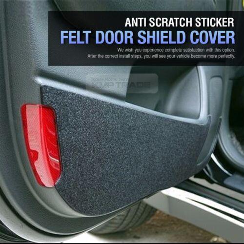 Felt Door Shield Cover Scratch Kick Protector for SSANGYONG 2013-2017 Rexton W